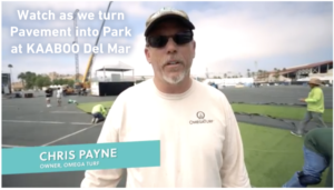 Chris Payne, Owner, OmegaTurf