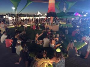 Omegaturf kaaboo fans night